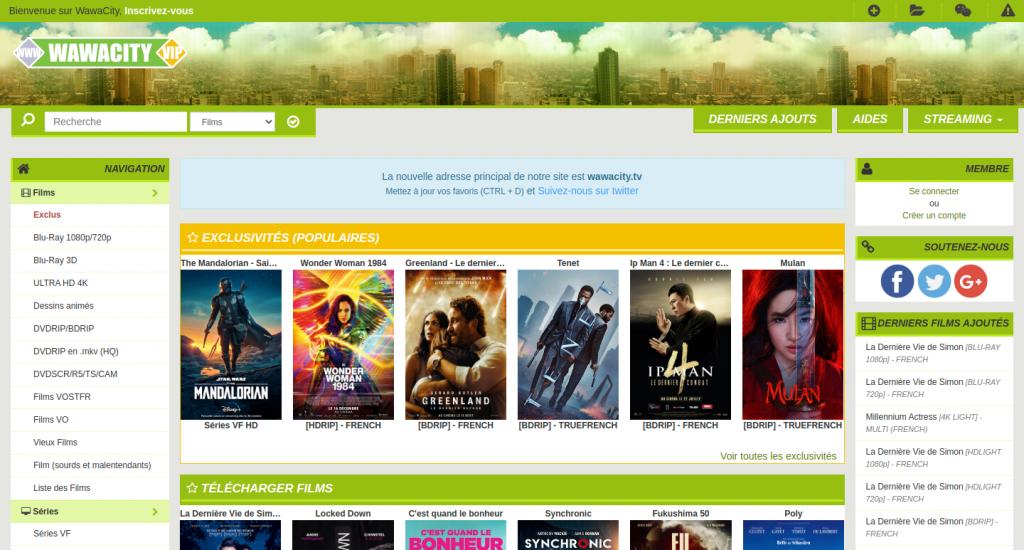 wawacity home page